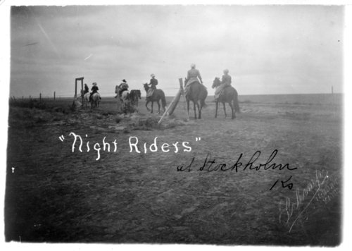 A group of women riding horseback, Wallace County, Kansas - Page