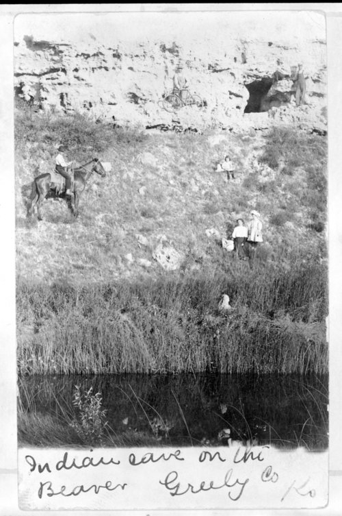 A family outing to Indian Cave, Greeley County, Kansas - Page