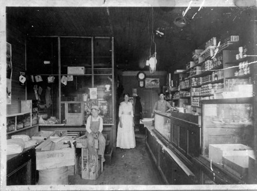 Unidentified general merchandise store, Greeley County, Kansas - Page