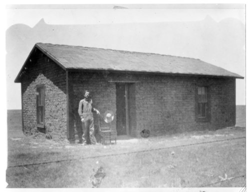 August Holfman's sod house, Greeley County, Kansas - Page
