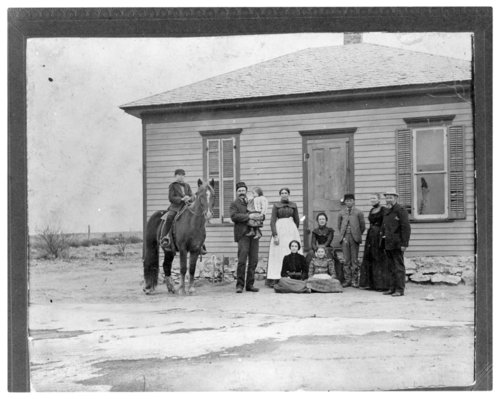The Robert Pringle family, Greeley County, Kansas - Page