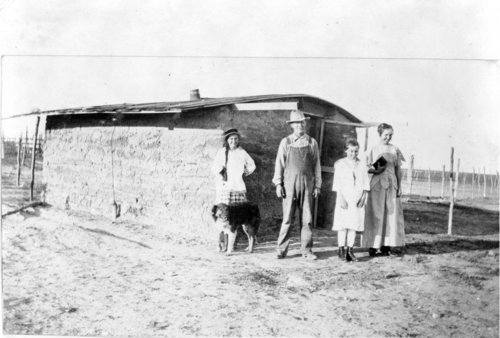 Sod house used by a sheepherder, Greeley County, Kansas - Page
