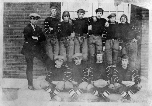 High school football team, Greeley County, Kansas - Page
