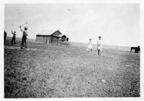 Croquet game, Greeley County, Kansas - Page