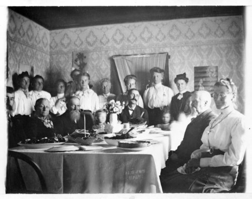 Family gathering, Greeley County, Kansas - Page