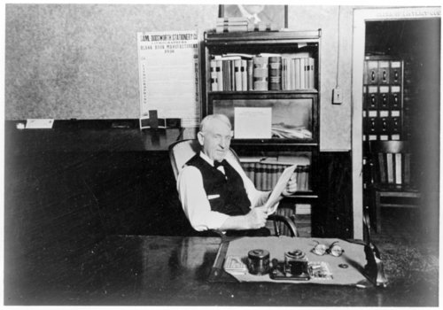 F.P. Tucker, Greeley County, Kansas clerk of the district court - Page