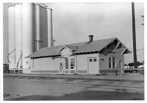 Atchison, Topeka & Santa Fe Railway Company depot, Hugoton, Kansas - Page
