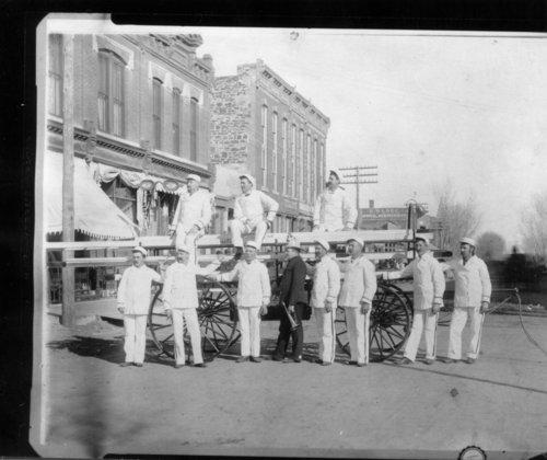 Firemen in Ellsworth, Kansas - Page