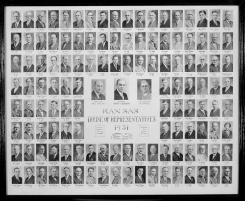 1931 Kansas House of Representatives - Page