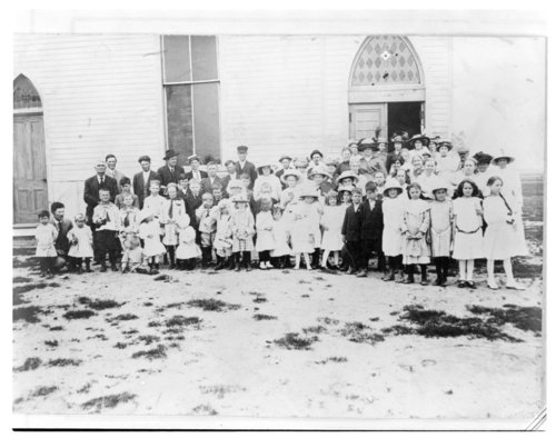 Sunday school convention, Horace, Greeley County, Kansas - Page