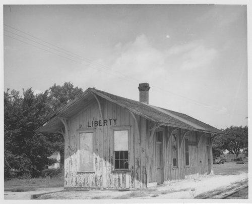 Atchison, Topeka & Santa Fe Railway Company depot, Liberty, Kansas - Page