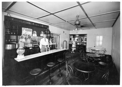 Frank O'Neal's confectionery shop, Tribune, Greeley County, Kansas - Page