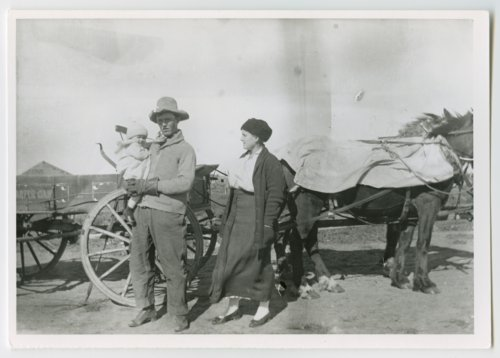 Family group, Greeley County, Kansas - Page