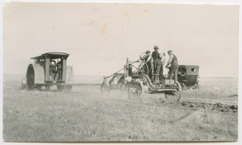 Road construction, Greeley County, Kansas - Page