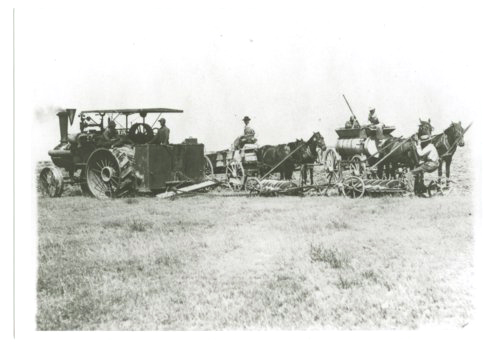 Breaking sod with a tractor, Greeley County, Kansas - Page
