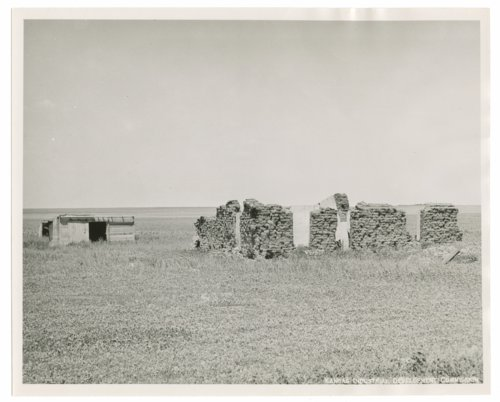 Ruins of a sod house in Sherman County, Kansas - Page