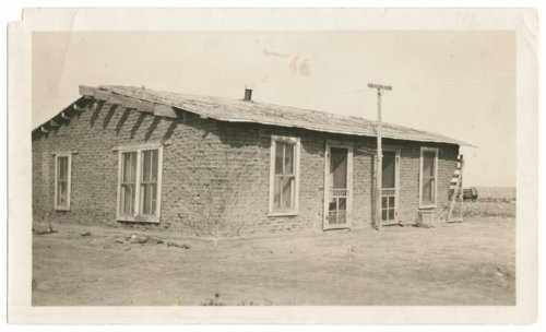 Rosie Collins' sod house, Sherman County, Kansas - Page