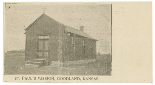 St. Paul's Mission Episcopal Church, Goodland, Sherman County, Kansas - Page