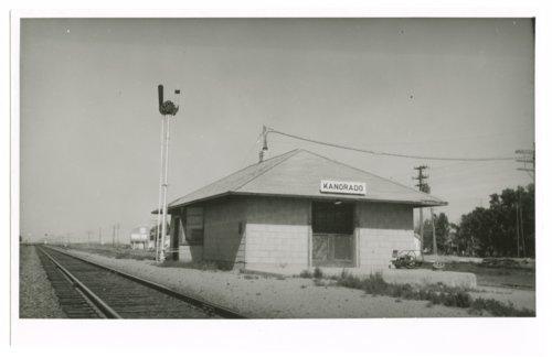 Chicago, Rock Island & Pacific Railroad depot, Kanorado, Sherman County, Kansas - Page