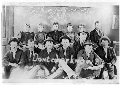 A group of Swedish men and women, Greeley County, Kansas - Page
