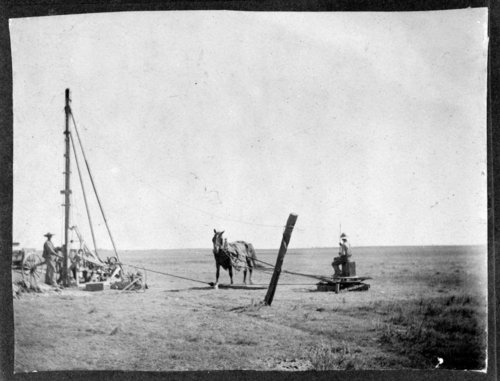 Drilling a well, Greeley County, Kansas - Page