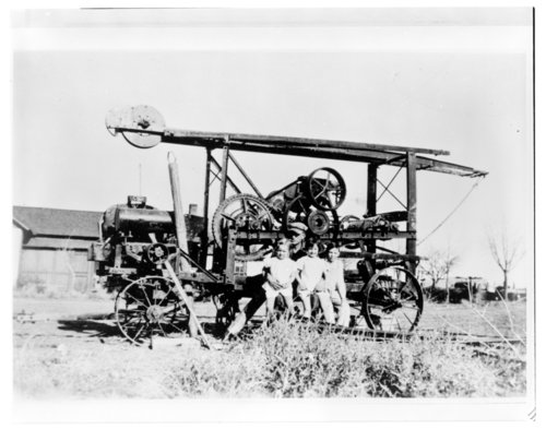 Homemade water well drilling machine, Greeley County, Kansas - Page