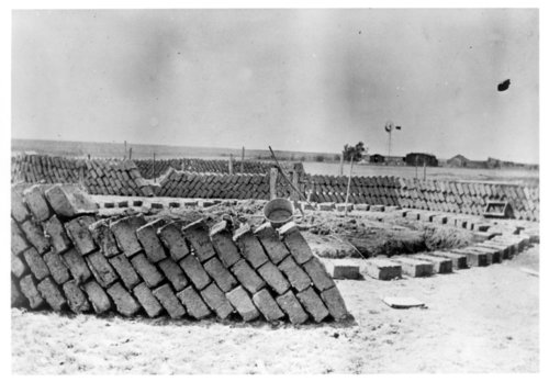 Construction of the Porter Smith adobe home, Greeley County, Kansas - Page