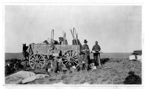 W.L. Liggett's chuck wagon crew, Greeley County, Kansas - Page