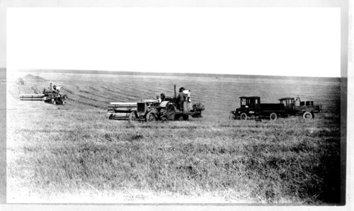 Wheat harvest, Greeley County, Kansas - Page
