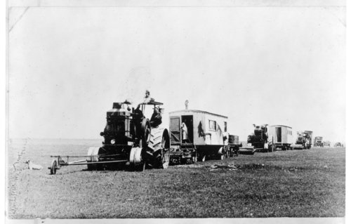 Harvest labor crews and cook shacks, Greeley County, Kansas - Page