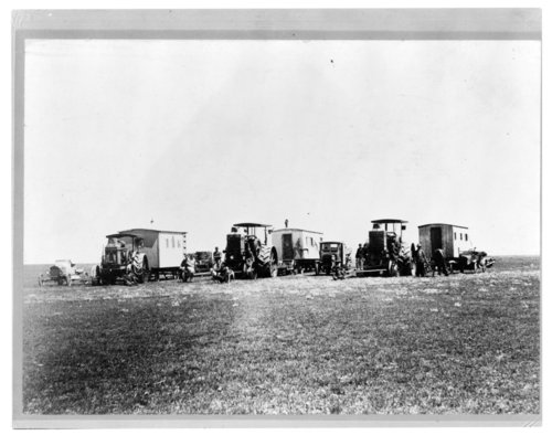 Fishman's harvest crew and cook shacks, Greeley County, Kansas - Page