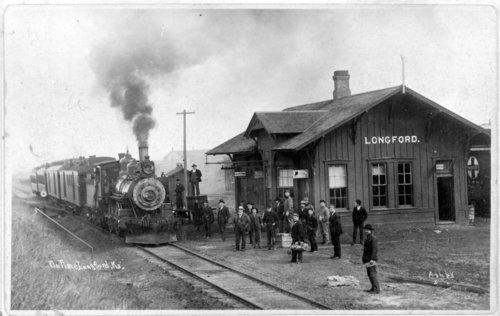 Atchison, Topeka and Santa Fe Railway Company depot, Longford, Kansas - Page
