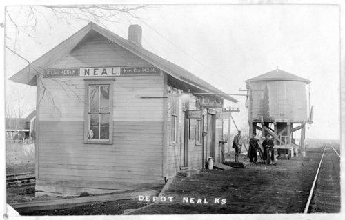 Missouri Pacific Railroad depot, Neal, Kansas - Page