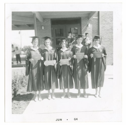 St. Michael's 8th grade graduation in Axtell, Kansas - Page