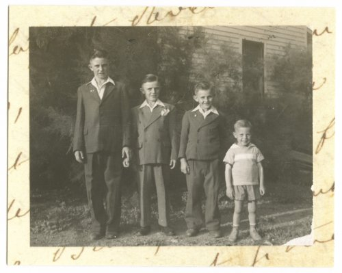 James Henry, Arlen Henry, Cecil Henry, and Damian Henry - Page