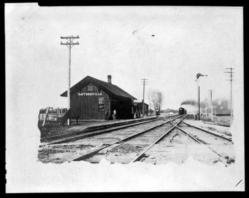 Atchison, Topeka and Santa Fe Railway Company depot, Saffordville, Kansas - Page