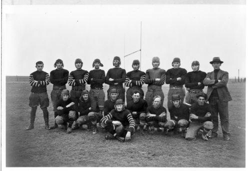 Greeley County High School football team, Tribune, Kansas - Page