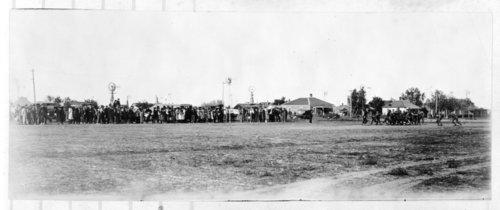 High school football game, Tribune, Greeley County, Kansas - Page