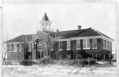 The second Tribune public school building, Tribune, Greeley County, Kansas - Page
