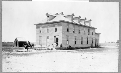 The hotel in Tribune, Greeley County, Kansas - Page