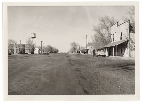View of Main Street, Horace, Greeley County, Kansas - Page