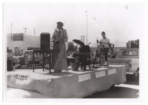 Kansas State Centennial parade, Tribune, Greeley County, Kansas - Page