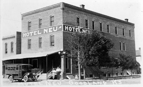 Hotel Neu, Goodland, Sherman County, Kansas - Page