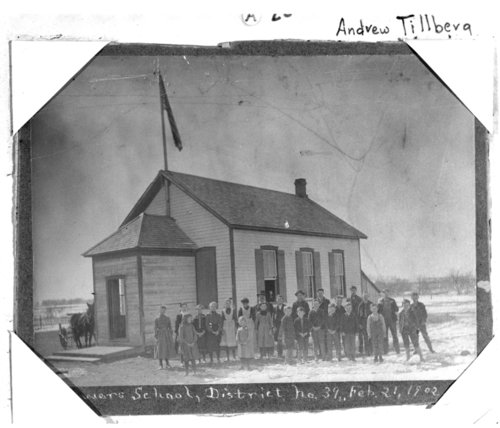 Powers School, Saline County, Kansas - Page