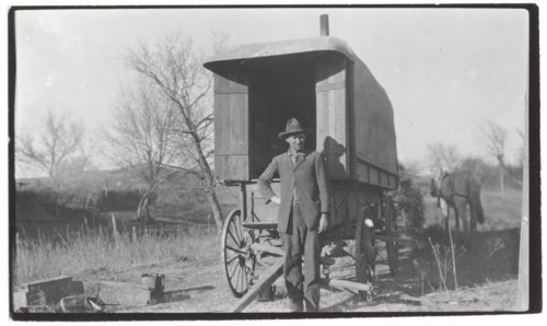 Wind wagon with living quarters inside - Page