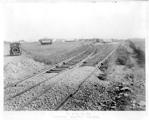 El Dorado & Atchison, Topeka & Santa Fe Railway Company grounds, Cassoday, Kansas - Page