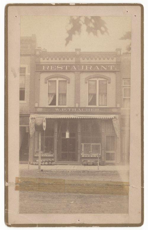W. P. Thacher Restaurant/Bakery in Salina, Kansas - Page