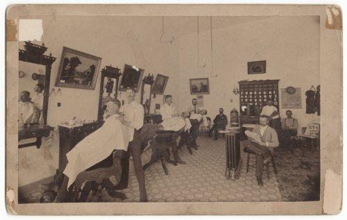 J. W. Blair's Barber Shop in Salina, Kansas - Page