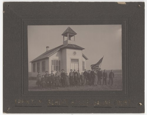 Trenton School, Saline County, Kansas - Page