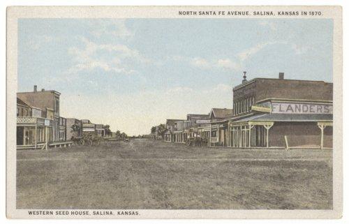Street scene, Salina, Kansas - Page